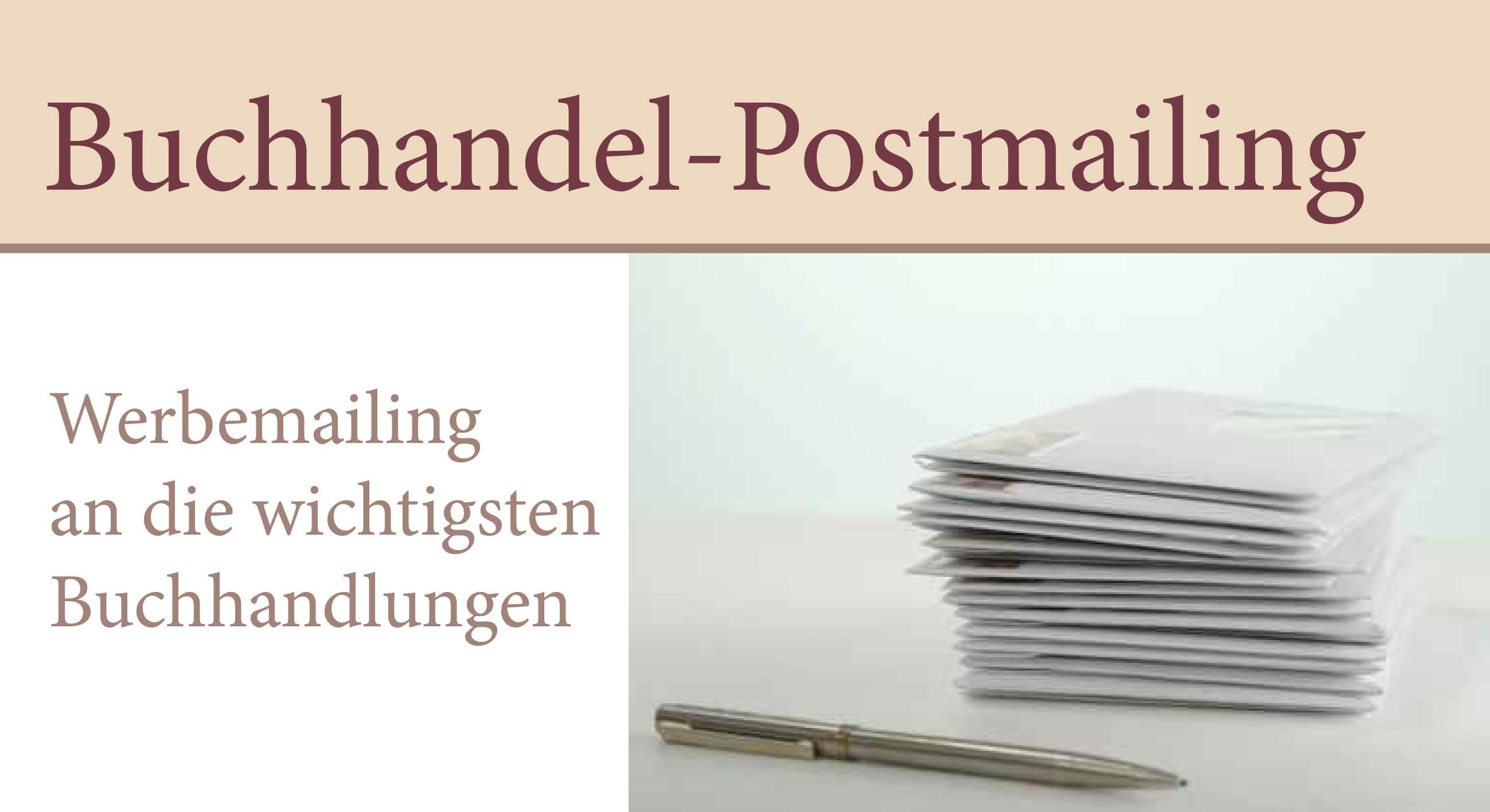 Buchhandel Postmailing